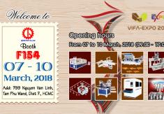 THƯ MỜI THAM DỰ TRIỂN LÃM VIFA EXPO 2018
