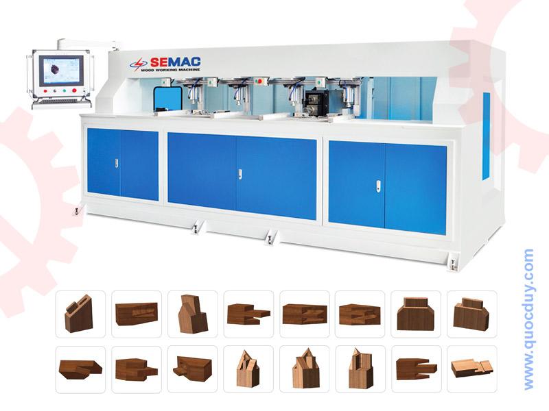 Ứng dụng máy làm mộng gỗ âm dương cnc trong sản xuất đồ gỗ nội thất