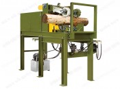 KNOT REMOVING DEBARKING MACHINE