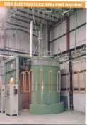 DISK ELECTROSTATIC SPRAYING MACHINE