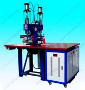HIGH FREQUENCY FUSING MACHINE FOR LEATHER PHONE CASE MAKING, HOT PRESS WELDER