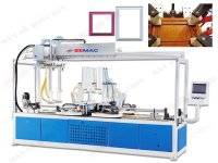 HIGH FREQUENCY FRAME ASSEMBLING MACHINE