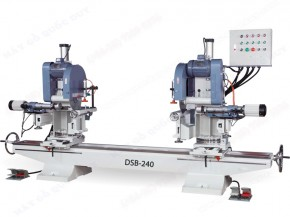 45° DOUBLE END MITER SAW WITH MOULDING MACHINE
