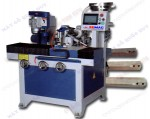 AUTOMATIC CORNER SCALPING, DRILLING AND TAPPING MACHINE
