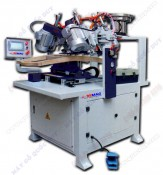 AUTOMATIC CHAIR BACK DRILLING AND TAPPING MACHINE