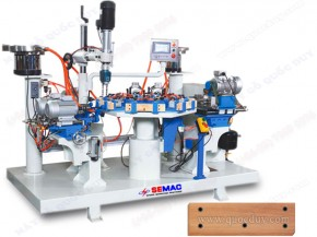 AUTOMATIC CHAIR RAIL DRILLING TAPPING MACHINE