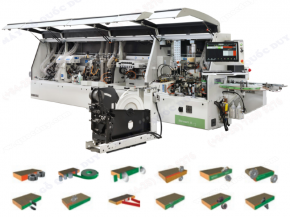 AUTOMATIC SINGLE-SIDED EDGEBANDING MACHINES