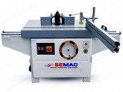 WOOD SPINDLE SHAPER WITH SLIDING TABLE