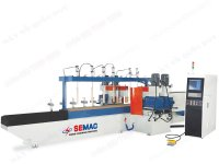 CNC AUTO DOUBLE SIDE COPY SHAPING MACHINE