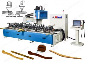 TWO-ROW CNC SEAT MORTISING MACHINE