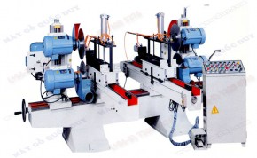AUTOMATIC DOUBLE END MITED SAW WITH MOULDING HEAD & TOP-BOTTOM SAWHEAD