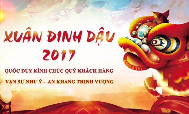 QUỐC DUY CHÀO MỪNG NĂM MỚI 2017